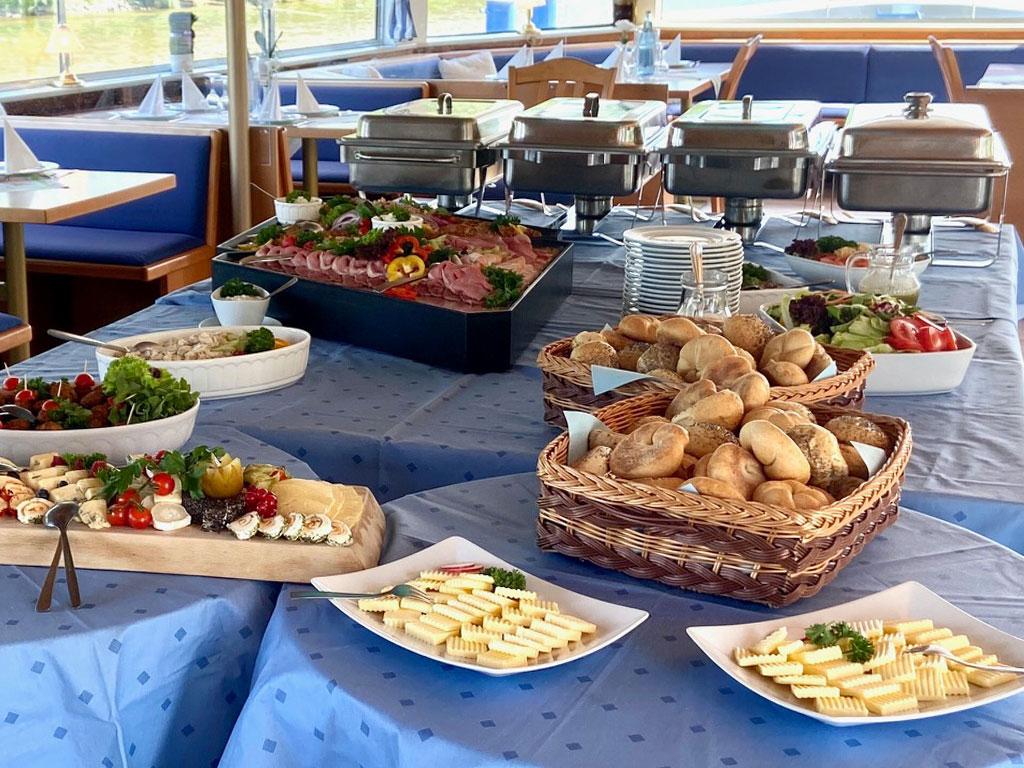 Brunch und Catering für Salonschiff Aurora Geesthacht