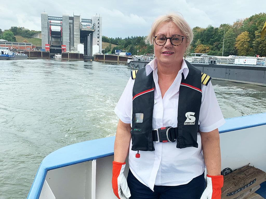 Salonschiff Aurora Geesthacht Projektleitung Gabriela Randel Schleuse Scharnebeck